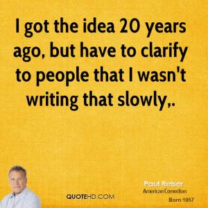 Paul Reiser Quotes