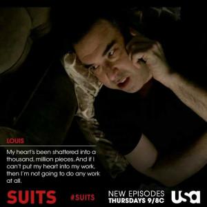 Suits, Season 3 / Louis Litt up