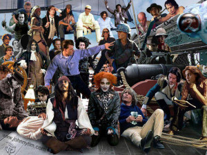 Johnny Depp's movie characters WOW!!!