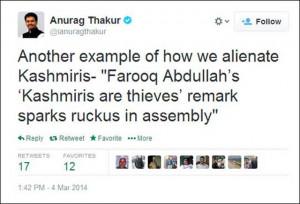 Why Farooq Abdullah called Kashmiris 'mahachor'