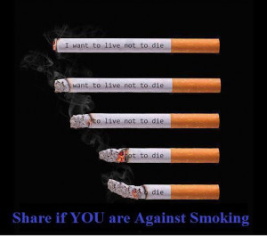 want to live - Quit smoking - ygoel.com