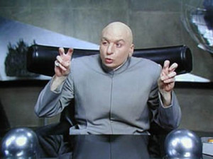 dr evil airquote