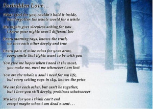 Pictures Gallery of forbidden love quotes