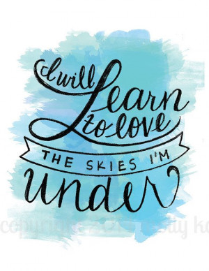 sky i m inspiration watercolors quotes watercolor quotes watercolor ...