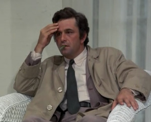 ... Columbo is amess, but he was an endearing mess and one of our most
