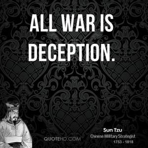 Sun Tzu Quotes On War