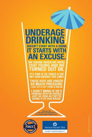 Underage Drinking-Excuses