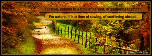 Autumn Quotes Facebook...