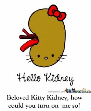 Kidney Cartoon Characters Childfree labor: kidney stones
