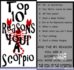 Topic: Why is Scorpio the Hated Outcasted (despite Aquarius being the ...