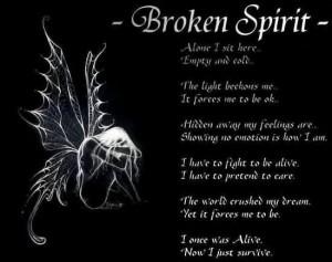 broken spirit a broken spirit dries up the bones