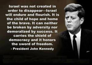 President John Kennedy Quote -