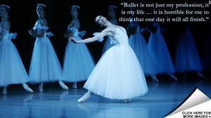 Bolshoi Prima ballerina's grace under pressure