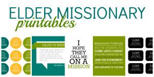 Missionary Printables