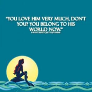 Little Mermaid- movie quote