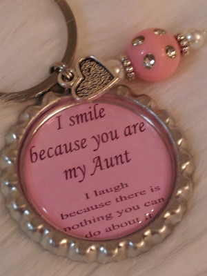 Hot Weather Funny Quotes Aunt keychain, funny quote,