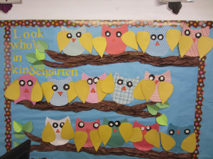 week we worked on jazzing up our bulletin boards for back to school ...