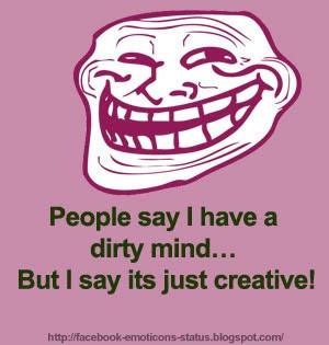 troll_dirty_mind_fb_status