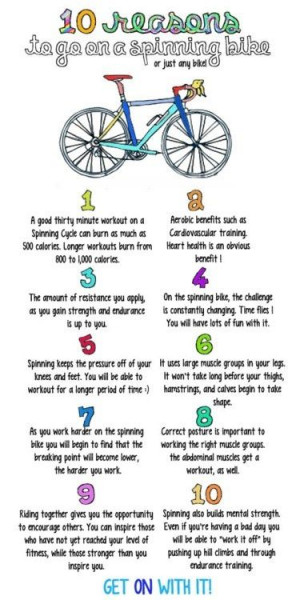 Reasons Spinning Bike Fitness