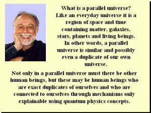 ABOVE: Physicist Fred Alan Wolfe. A parallel universe is possibly a ...