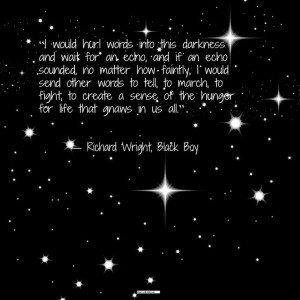 Enjoy a Richard Wright quote this morning. #Mississippian #words # ...
