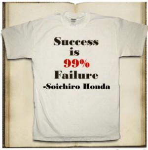 Failure is a Path to Success