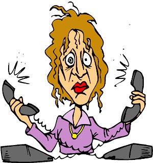 Hilarious stress test: Funny picture of woman getting stressed by the ...