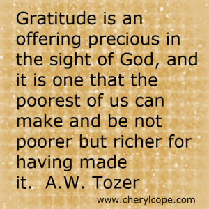 Thanksgiving Quotes and Scriptures