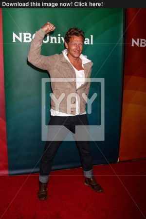 Image of magnus scheving at the 2013 nbc universal summer press day ...