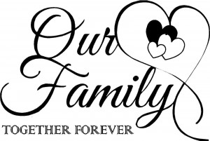 Beautiful family quotation about togetherness