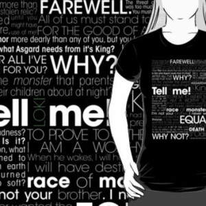 Thor - Loki quotes (variant 1)(dark shirts)