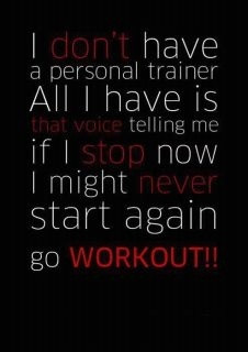 just do it # workout