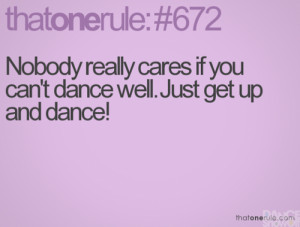 Dance Showoff - just dance! « dance quotes