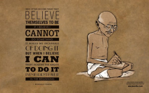 ... efficacy—the belief that you can do something—is necessary to