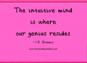 25 Great Intuition Quotes