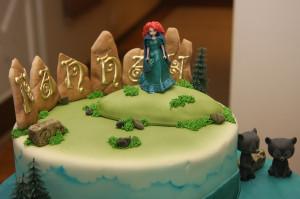 Brave Birthday Cake Flickr...