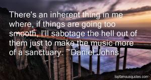 Daniel Johns Quotes