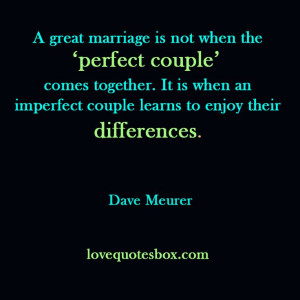Great Marriage - Love Quotes Box