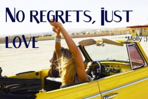 Live This Summer Without Regrets Quote
