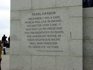 national world war ii memorial photo fdr quote