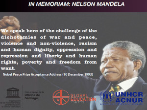 Nelson Mandela, Human Rights Day, global education magazine