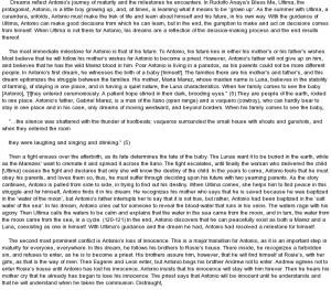 Bless me ultima essay topics