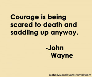 Courage - quotes Photo