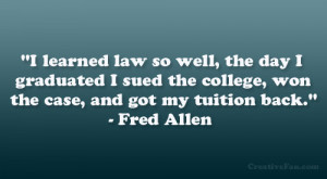 Fred Allen Quote