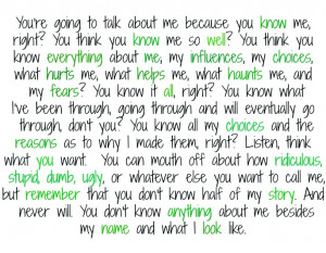 quotes judgemental people
