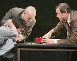 Billy Crudup(Katurian), Zeljko Ivanek (Ariel), Jeff Goldblum (Tupolski ...