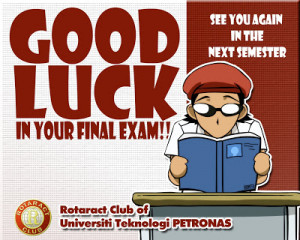 Good Luck Quotes For Final Exams #1