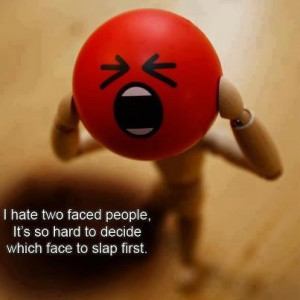 faced People