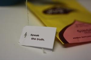 Yogi tea quote (SURPRISE)