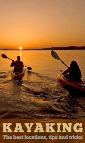 girls and kayaking